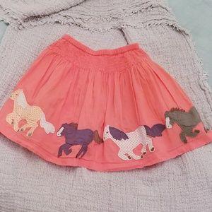 Mini Boden Applique Skirt